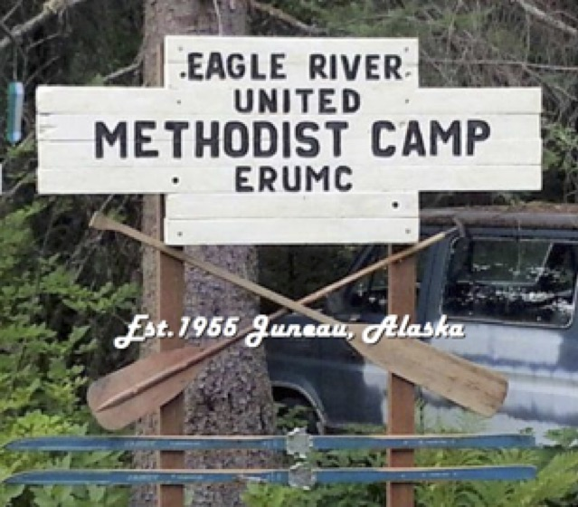 Eagle River Camp Sign